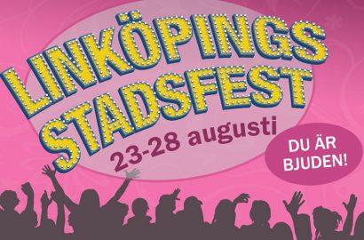Linköpings Stadsfest 23-28 augusti!