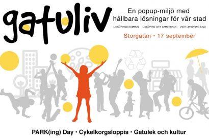 Gatuliv med Cykelkorgsloppis, Gatulek och Kultur Storgatan 17 september kl. 10-16