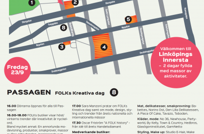 Lär känna Linköpings innersta 23 & 24 september!