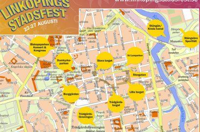Linköpings Stadsfest 22 -27 augusti