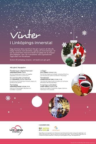 Vinter i Linköpings Innersta!